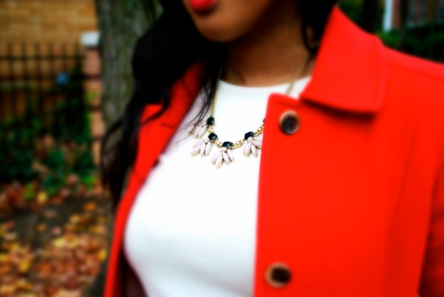 winter statement necklace
